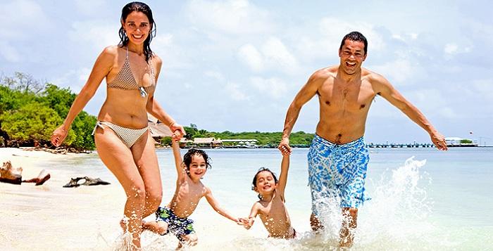 Mit der Familie in den Urlaub